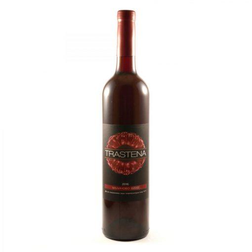 """Малиново вино """"Trastena"""" - Вино - Здраве & Вино - zdravevino.bg"""