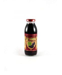 Биологичен сок от арония - 300 мл. - Здраве & Вино - zdravevino.bg