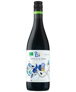 Червено вино - Рубин & Мавруд - Био вино - 750 мл. - Здраве & Вино - zdravevino.bg