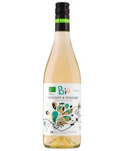 Бяло вино - Вионие & Траминер - Био вино - 750 мл. - Здраве & Вино - zdravevino.bg