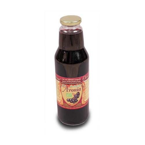 Биологичен сок от арония - 750 мл. - Здраве & Вино - zdravevino.bg