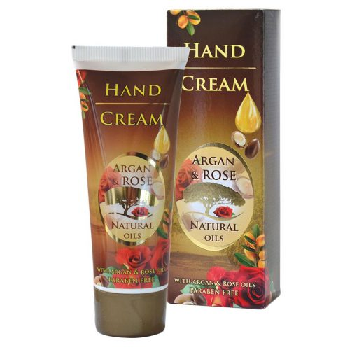 Крем за ръце с Арганово масло и Розово масло - Красива кожа - Здраве & Вино