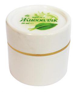 Билков крем с Живовляк - 50мл - 100 % натурален продукт. - Здраве & Вино