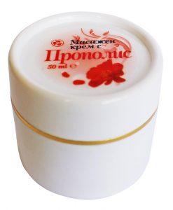 Масажен крем с Прополис - 100 мл.