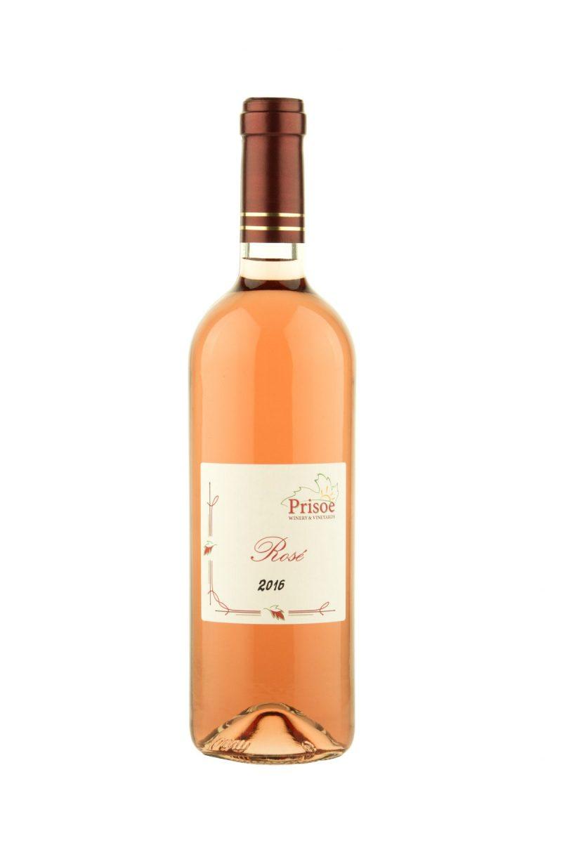 """Вино розе """"Prisoe"""" 2016 - 750 мл. - Здраве & Вино"""