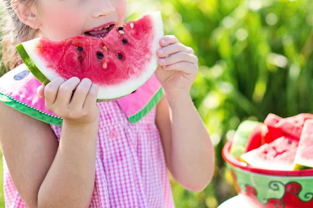 Вегетарианство при децата