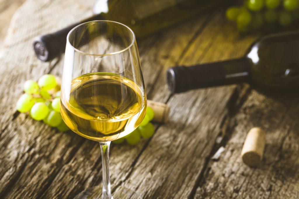 Wine on wood