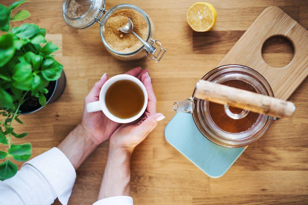 чай от босилек за кашлица